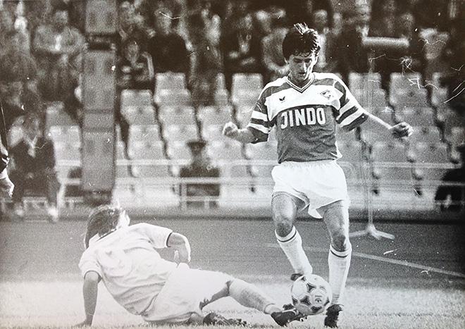 В «Спартаке» прошли лучшие годы карьеры полузащитника Геннадия Перепаденко