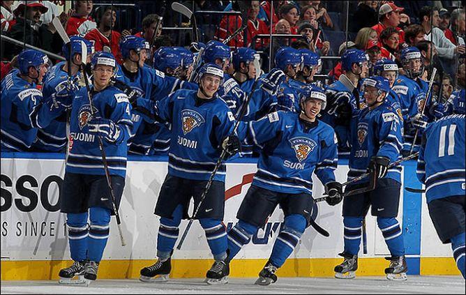 Сборная Финляндии - соперник россиян по четвертьфиналу.