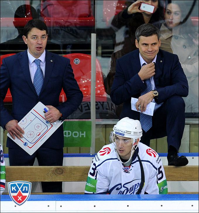 Андрей Тарасенко и Дмитрий Квартальнов