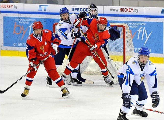 16.04.2010. Чемпионат мира U-18. Россия - Финляндия - 4:5. Фото 03.