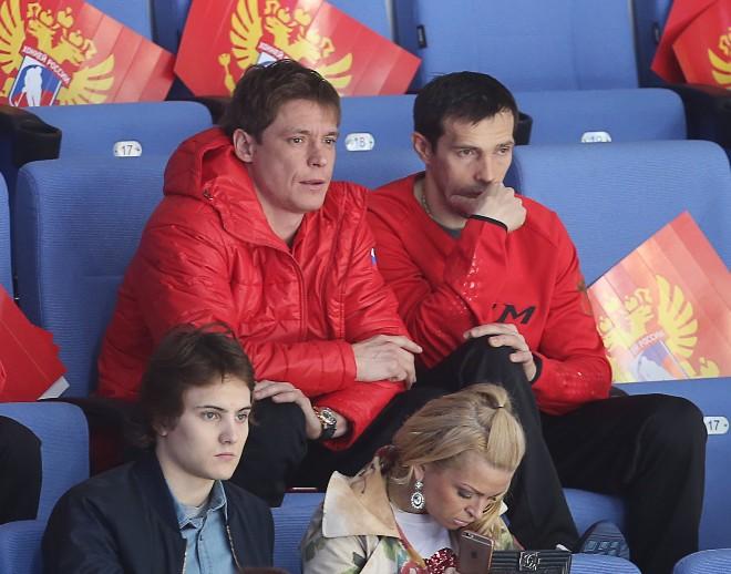 Александр Сёмин и Павел Дацюк