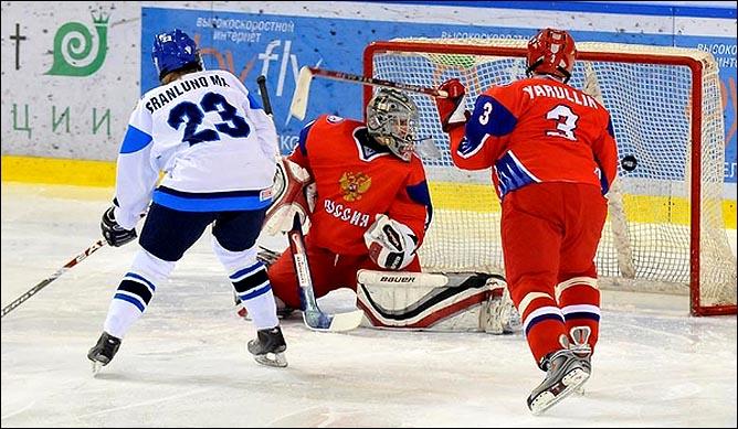16.04.2010. Чемпионат мира U-18. Россия - Финляндия - 4:5. Фото 05.