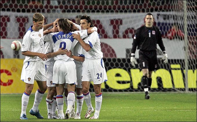 В 2005 году россияне разгромили Люксембург со счётом 5:1