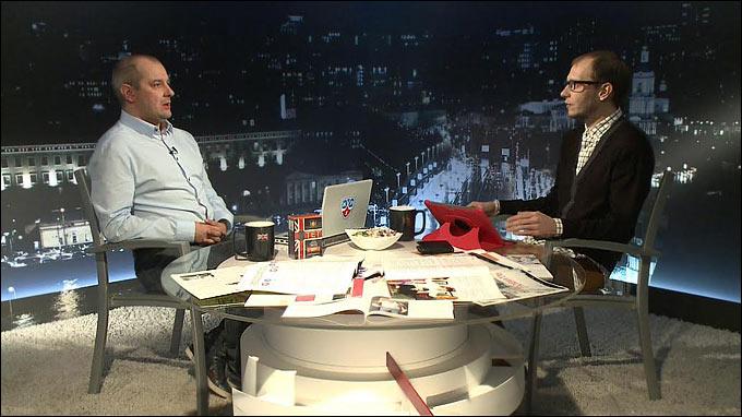 """Алексей Шевченко в гостях у """"Трибуны"""" Романа Чернявского"""