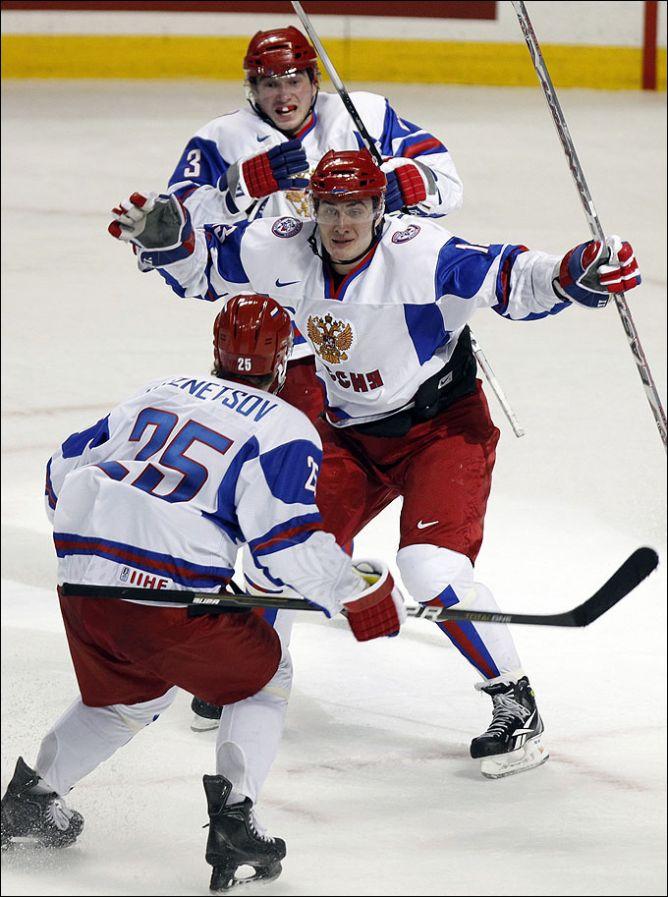 3 января 2011 года. Баффало. 1/4 финала. Финляндия - Россия - 3:4.