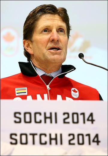 Майк Бэбкок объявляет состав на сочинскую Олимпиаду