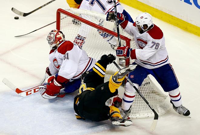 «Бостон» — «Монреаль». Счёт в серии: 3-4