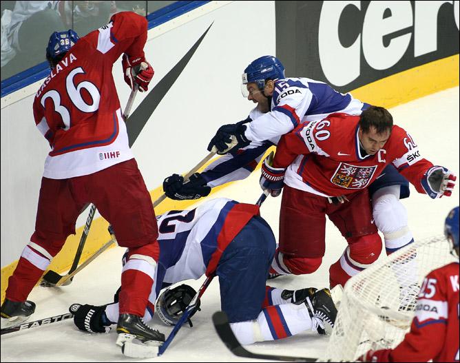 6 мая 2011 года. Братислава. Чемпионат мира. Чехия — Словакия — 3:2