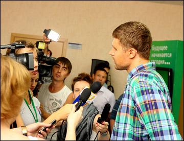 Илья Брызгалов провёл первый урок вратарского мастерства в Уфе