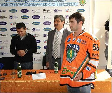Чемпион мира Александр Попов в Ангарске