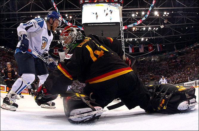 6 мая 2011 года. Братислава. Чемпионат мира. Германия — Финляндия — 4:5
