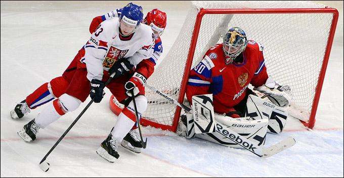 Константин Барулин против сборной Чехии