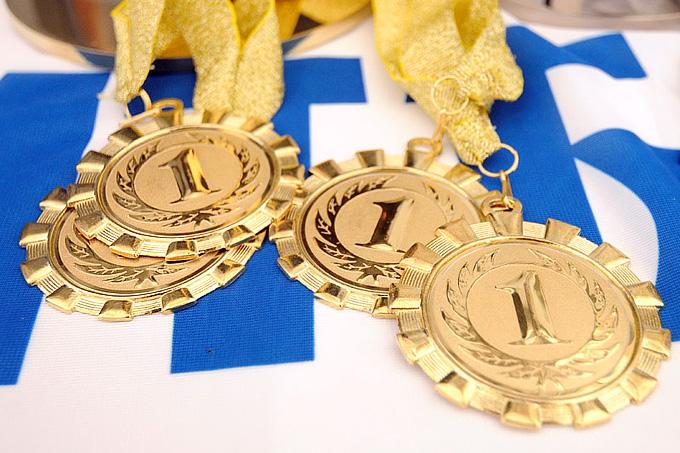 Так выглядят награды победителям