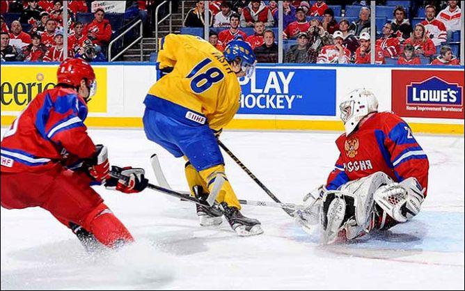 03 января 2011 года. Баффало. Полуфинал. Швеция - Россия - 3:4.