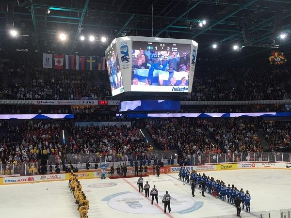 Сборная Финляндия обыграла Швецию и вышла в финал