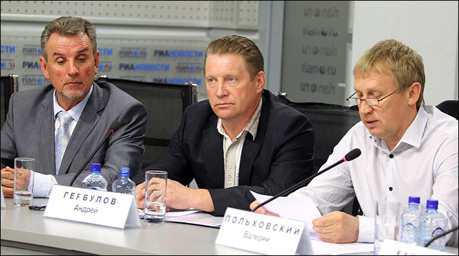 Пресс-конференция нового тренерского штаба сборных России по биатлону (47 фото)