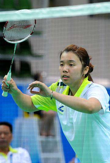 Олимпийская чемпионка по бадминтону Тянь Цин