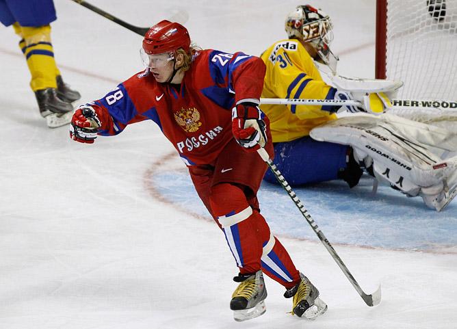 Денис Голубев только что предметно объяснил шведам, кто будет играть в финале!