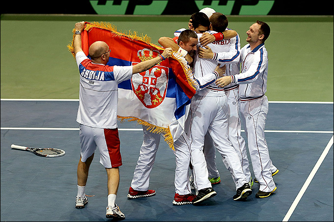 Сборная Сербии одержала непростую победу над сборной США