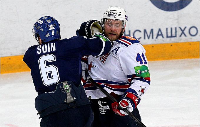 Патрик Торесен против Сергея Соина