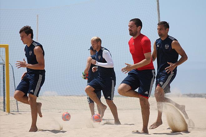 Первая тренировка сборной России в Португалии прошла в плановом режиме