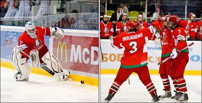 17.04.2010. Чемпионат мира U-18. Белоруссия - Швейцария - 2:3. Фото 02.