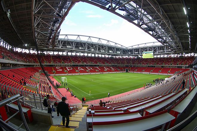 Сборная России может сыграть на «Открытие-Арене»
