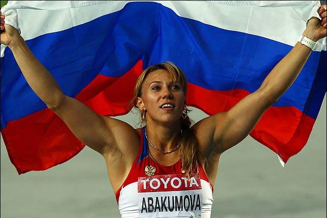 Мария Абакумова выиграла золото Тэгу в метании копья, показав второй результат за всю историю лёгкой атлетики