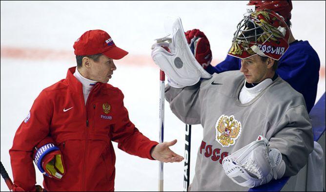 Вячеслав Быков и Евгений Набоков