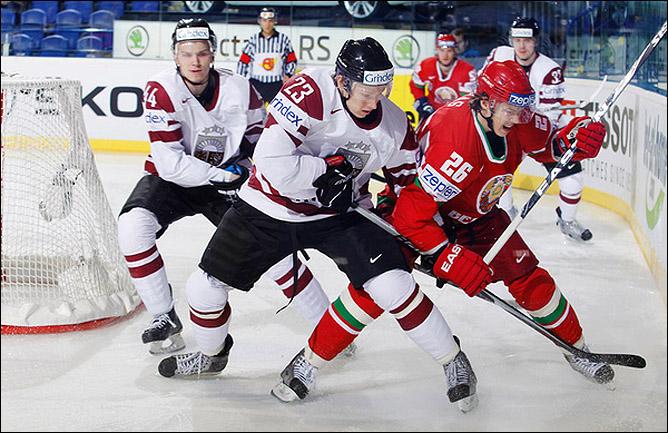 7 мая 2011 года. Кошице. Чемпионат мира. Белоруссия — Латвия — 3:6