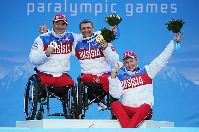 Роман Петушков и его партнёры по сборной России