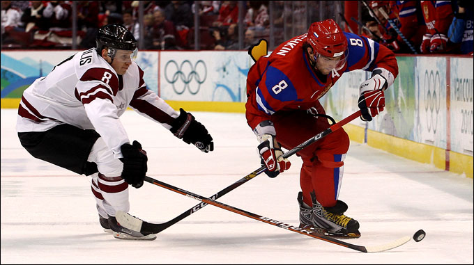 Россия против Латвии