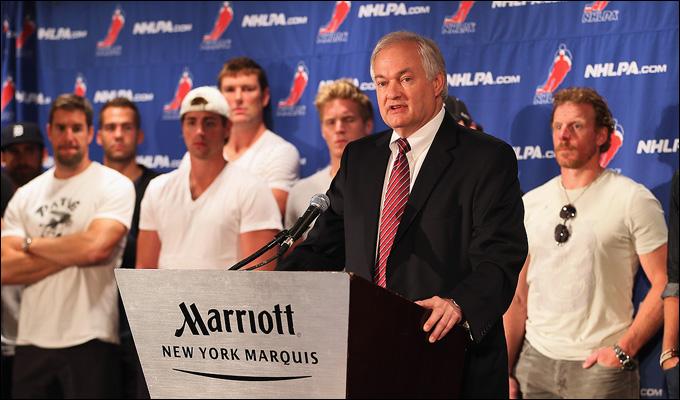 Глава профсоюза игроков НХЛ Дональд Фер