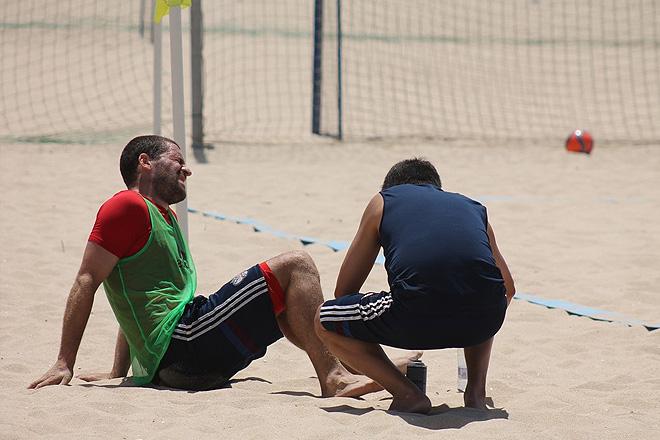 Во время двусторонок сборной России никто никого не жалеет