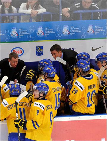 Главный тренер молодёжной сборной Швеции Роджер Рённберг