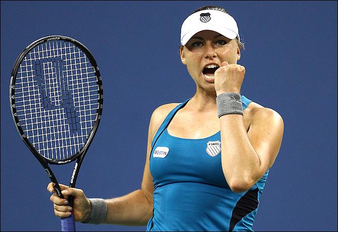 Вера уверенно прошла Лисицки в 1/8 финала US Open