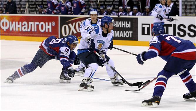 7 мая 2011 года. Братислава. Чемпионат мира. Финляндия — Словакия — 2:1
