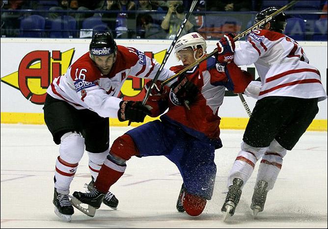 7 мая 2011 года. Кошице. Чемпионат мира. Норвегия — Канада — 2:3