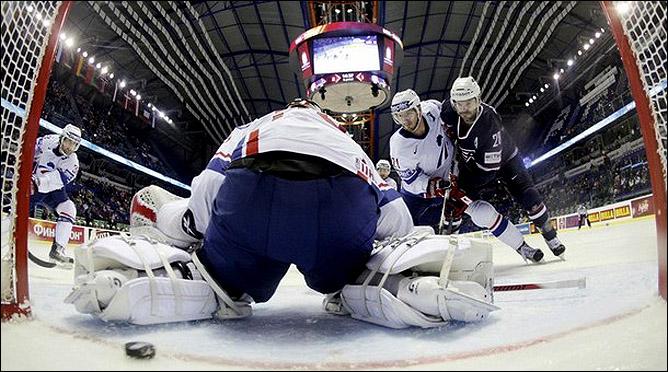 7 мая 2011 года. Кошице. Чемпионат мира. США — Франция — 3:2