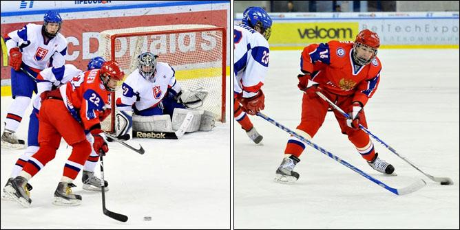 18.04.2010. Чемпионат мира U-18. Россия - Словакия - 3:1. Фото 03.