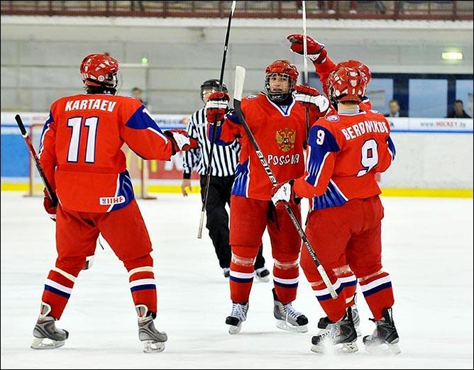 18.04.2010. Чемпионат мира U-18. Россия - Словакия - 3:1. Фото 05.