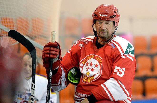 Сергей Гимаев в сборной «Легенды хоккея СССР»