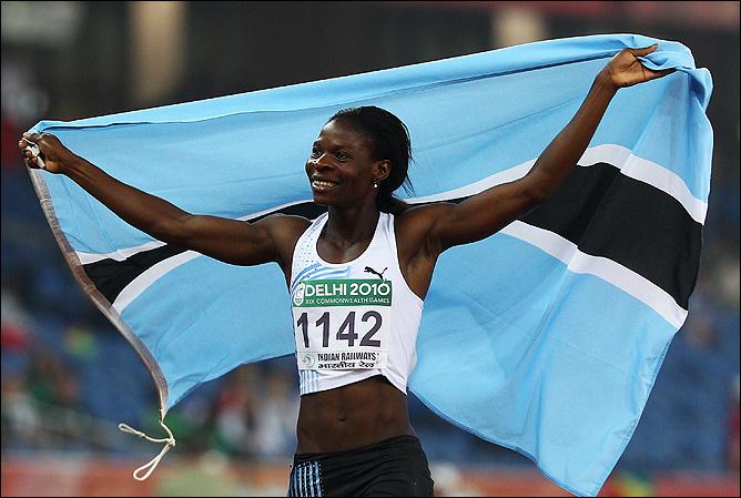 Амантле Монтшо порадовала Ботсвану