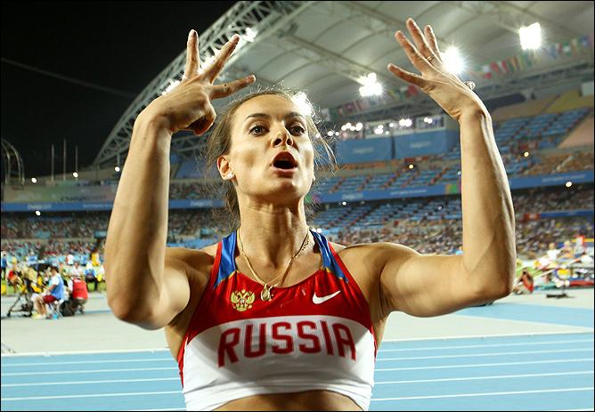 Исинбаева заняла в Тэгу только шестое место