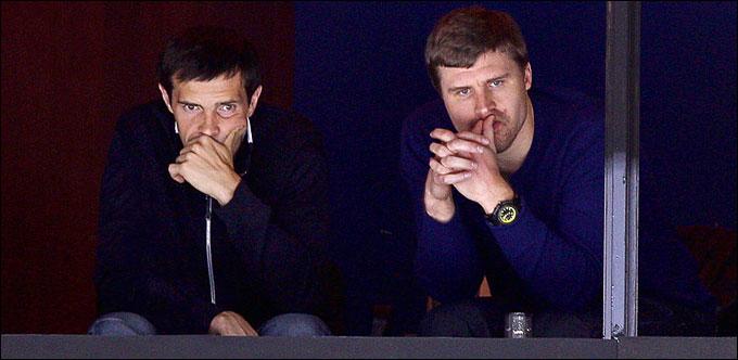 Павел Дацюк и Илья Брызгалов