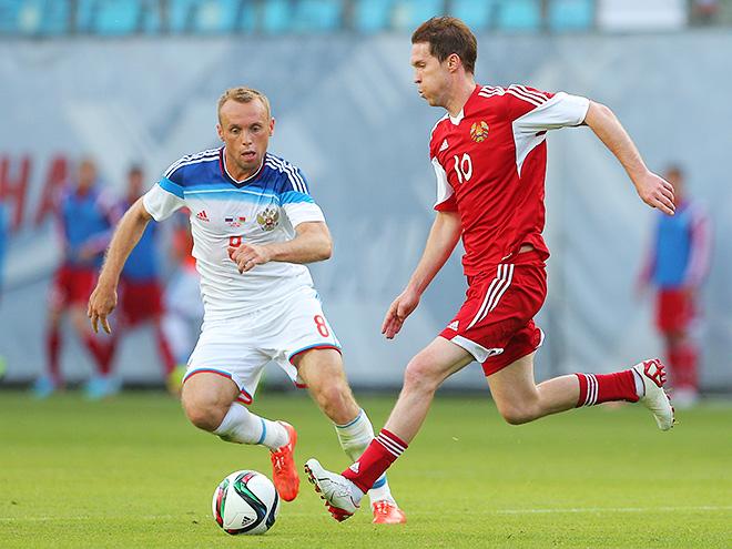 Александр Глеб в составе сборной Белоруссии