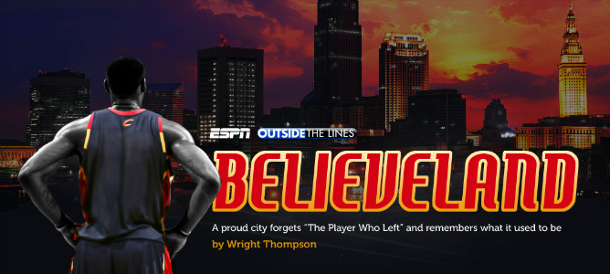 Believeland by Wright Tompson