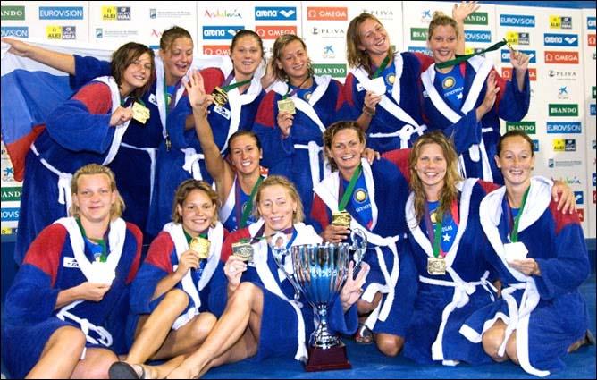 Женская сборная России — чемпион Европы-2008