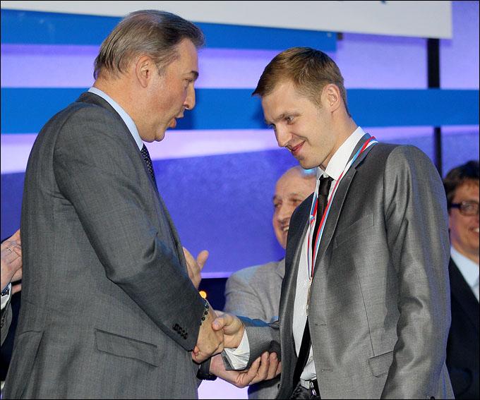 Александр Ерёменко и Владислав Третьяк