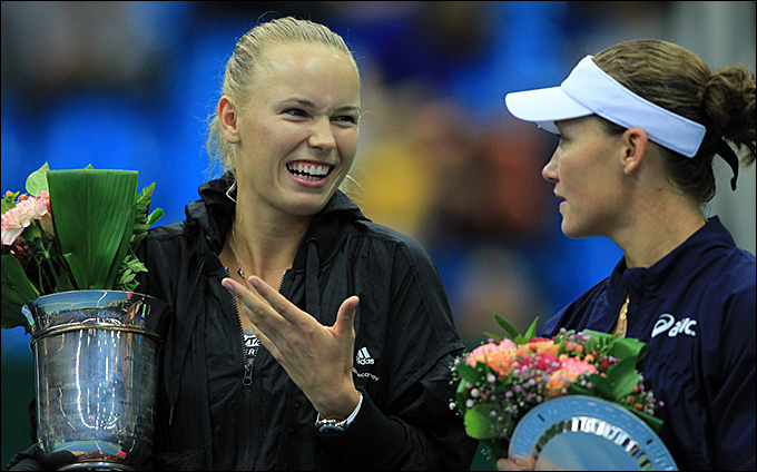 Каролина Возняцки стала чемпионкой Кубка Кремля